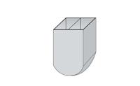 自密实混凝土U型流动仪